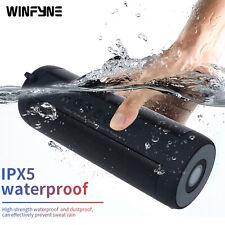 Winfyne Portable speaker Wireless Bluetooth Waterproof Stereo Bass With FM Radio