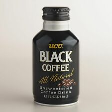 UPC Coffee 9.7 oz - Ready-to-Drink to Black Coffee from Kobe Japan - Twelve Cans