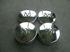 03-12 Dodge Ram 3500 dually chrome wheel center cap set