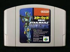 Star wars : Shadows of the empire - Jeu Nintendo 64 N64 - JAP Japan