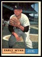 1961 Topps Set Break Nm High# Early Wynn Chicago White Sox #455