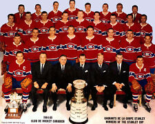 1964 1965 MONTREAL CANADIENS 8X10 TEAM PHOTO HOCKEY NHL STANLEY CUP CHAMPIONS