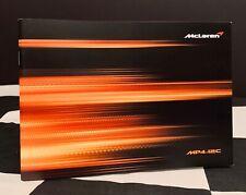 2011 McLAREN MP4 12C COUPE SALES BROCHURE PROSPEKT ENGLISH HAMILTON BUTTON F1