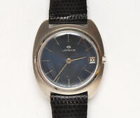 "Lorenz vintage 1970 automatic ""TV"" style steel new old stock unworn"