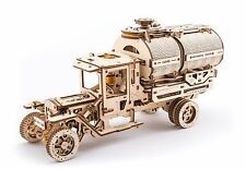 UGears -Truck with Tanker- 3D Wooden Puzzles/Mechanical Models/Working Models