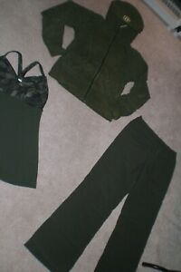 Lululemon Dress Pants, Limited Edition Hoodie and Butterfly Tank sz 6