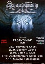 Symphony X - 2011-TOUR MANIFESTO-Pagan 's Mind-ICONOCLAST-TOUR Poster
