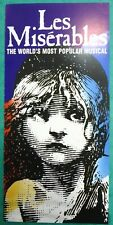 Original LES MISERABLES Palace Theatre flyer handbill leaflet 2000