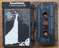 PROCOL HARUM - A WHITE SHADE OF PALE (CASTLE CLAMC188) 1990 UK CASSETTE REISSUE