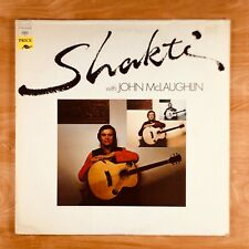 Shakti w/ John McLaughlin. LP Record Album.
