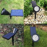 7RGB LED Solar Power Flood Spot Light Garden Yard Lawn Home Path Lamp Waterproof
