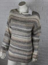 s.Oliver Damen-Pullover mit Rundhals-Ausschnitt und mittlerer Strickart