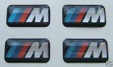 4 BMW M Tec Badge Alloy Wheel stickers Sport Emblem 17 18 19 Performance 441 MV3