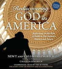 New Audio Book Rediscovering God in America by Newt & Calista Gingrich CDs