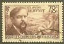 "FRANCE TIMBRE STAMP N° 437 "" CLAUDE DEBUSSY 70c+10c "" OBLITERE TB"