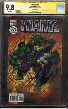 Thanos #18 CGC 9.8 NM/MT SIGNED DONNY CATES VENOM TOM HARDY ANNIVERSARY VARIANT