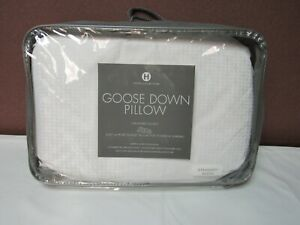 Hotel Collection European White Goose Down Soft Standard Pillow T4101568