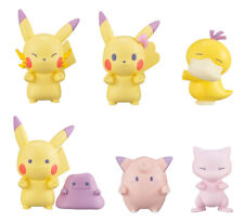 Set 6 pcs Bandai Pokemon Line Up 2 Figure Gashapon Pikachu Mew Psyduck Clefairy