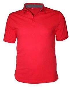 Under Armour Golf Shirt Mens XL Red New UA Performance Short Sleeve Cotton Polo