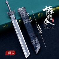 UNTAMED TOY 1/6 1:5 weapon sword Threekingdoms chinese sword Metal 霸下刀 陈情令