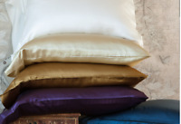 100% Pure Mulberry Silk Pillowcase 19MM 2pc