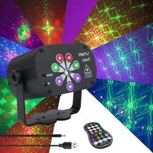 240 Patterns LED Stage Lighting RGB Laser Projector Disco Party Club DJ Light AU