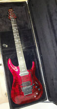 SCHECTER C-7 S Apocalypse Red Reign Seven String Sustainiac Electric Guitar