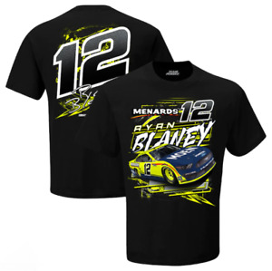 Ryan Blaney 2021 Menards NASCAR Slingshot T-Shirt Tee M-XL IN STOCK