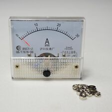 85C1 DC 0-30A ANALOG AMP METER AMMETER CURRENT PANEL UPDATED
