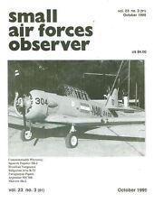 SMALL AIR FORCES OBSERVER V23 N3 WW2 RAAF WIRRAWAY_SPAIN SB-2_BRAZIL VENGEANCE_B