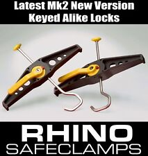 Nissan Nv400 Pair of Rhino SafeClamp Ladder Clamping System (ras21)