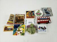 Foreign Country Refrigerator Magnets Mixed Lot of 10 Nice