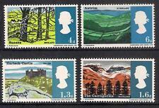 GB 1966 sg689-92 paysages ordinaires set neuf sans charnière
