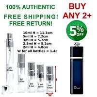 Dior Addict EDP women perfume sample size 2~2.5~3~5~10ml