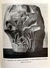 1960 PARIS ILE DE FRANCE ARCHEOLOGIE ARCHITECTURE EGLISES LIVRE ILLUSTRE BOOK