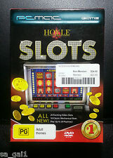 Hoyle Slots (PC: Windows/ Mac, 2009) PC Game ***Brand New Sealed***