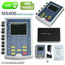 Simulador de paciente de parámetros múltiples Contec MS400, simulador de ECG