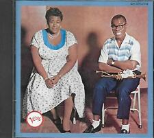 CD album: Ella Fitzgerald & Louis Armstrong: Ella & Louis. Verre. A3