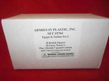 Armies In Plastic 1/32nd Egypt & Sudan Set #2 5704 40 Figures & More Set NEW!
