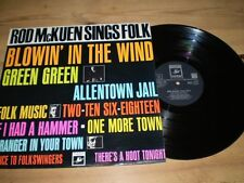 Rod McKuen folk music LP,1964 Original,Ex Con,Sent Recorded Delivery