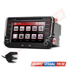"7"" Car DVD Player Radio GPS SAT NAV Stereo VW PASSAT Golf TRANSPORTER T5 Camera"