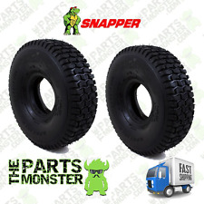 (2) PACK 11X4.00-4  FRONT Tires  for Rear Engine Mower  SNAPPER 11x4x4 // 11x4-4