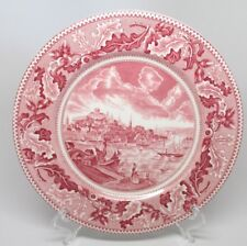 Johnson Brothers - Historic America Pink - View of Boston Mass. - Dinner Plate