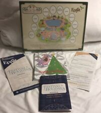 Chip & Dale Christmas Tree Spree Map And Figment Ornament Christmas Card 2018