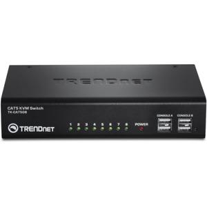 TRENDnet 8-Port CAT5 KVM Switch (TK-CAT508)