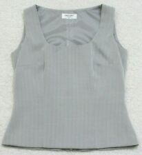 Tank Top Tee T-Shirt Sleeveless Crewneck Table Eight Twleve 12 Polyester Lined
