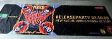 KISS Sonic Boom Record Company large Promo Banner, Tapestry, Flagge, 294 X 98cm