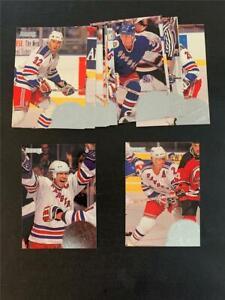 1994/95 Donruss New York Rangers Team Set 13 Cards