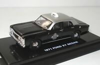 1:64 FORD FALCON XY SILVERTOP TAXI - DISPLAY CASE