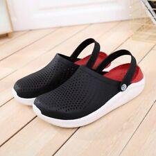 Shoes Beach Croc Sandals Slippers Outdoor Garden Water Clogs Mules Crock Men  .